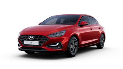 Cutout image of the Hyundai i30 Fastback