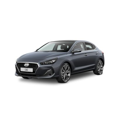 Side view of the Hyundai i30 Fastback.