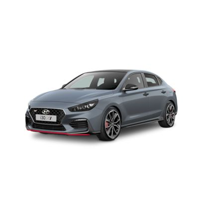 Side view of the all-new Hyundai i30 Fastback N.