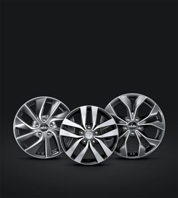 Photo of the new wheels exclusive to the all-new Hyundai i30 Fastback.