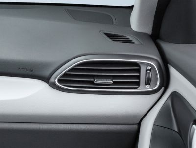new air vents of the new Hyundai i30