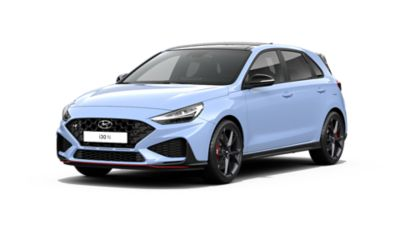 Cutout image of the new i30 N.
