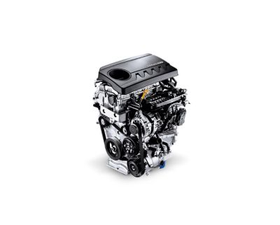 Image of the 1.4 MPi petrol engine in the new Hyundai i30.