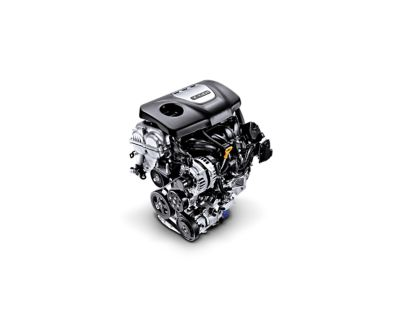 Image of the 1.0 T-GDi petrol engine in the new Hyundai i30.