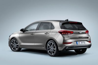 close up of the new Hyundai i30 rear