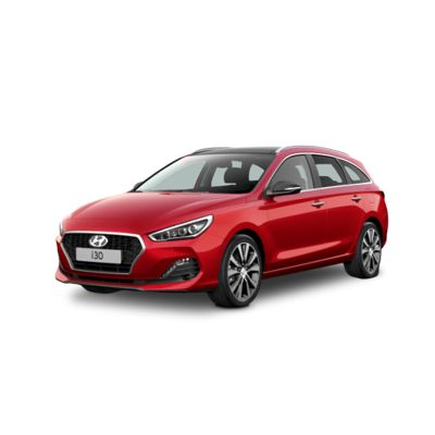 Side view of the new Hyundai i30 Wagon.