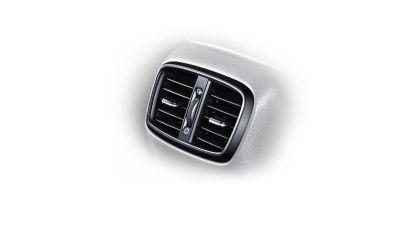 Photo of the rear vents on the new Hyundai i30 Wagon.
