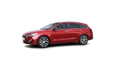 The design details of new Hyundai i30 Wagon.