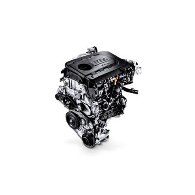 Graphic showing the 1.6 CRDi Diesel engine in the new Hyundai i30.