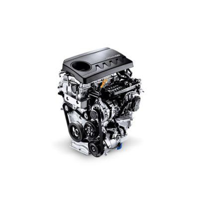 Imagen del motor de gasolina 1.4 GDi del nuevo Hyundai i30 cw.