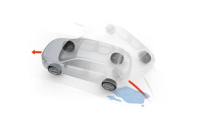 Schematic of the Hyundai traction control