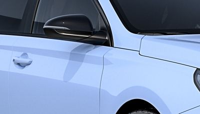 black mirror and body-coloured door handle on the newHyundai i30 N performance hatchback