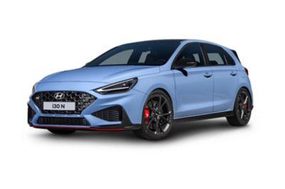 The Hyundai i30 N in Performance Blue