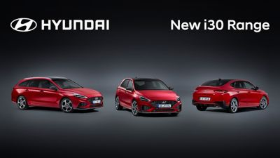 Video study clip of the new Hyundai i30 exterior and interior