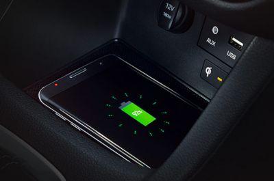 Vista en detalle del sistema de climatización automática del Hyundai i30 Fastback N.