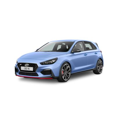 Cutout image of the Hyundai i30 N