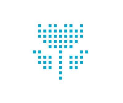 Ecologie-icoon van de IONIQ 5 middelgrote CUV met zonnepanelen in de kap.