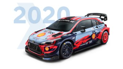 Hyundai i20 Coupe WRC 2019 model