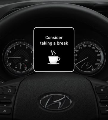 Image of the steering wheel in the all-new Hyundai i10.