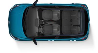 Immagine degli interni dall'altro di Nuova Hyundai i10
