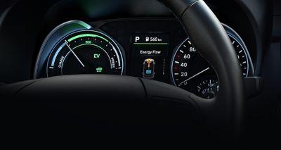 Nowy cyfrowy zestaw wskaźników Hyundai KONA Hybrid