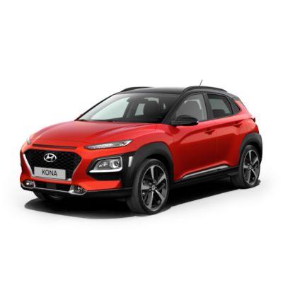 Hyundai KONA dostępny w wyprzedaży.