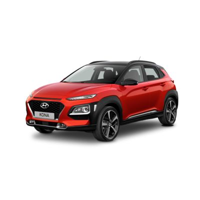 Side view of the all-new Hyundai Kona.
