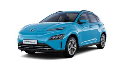 Cutout image of the new Hyundai KONA Electric