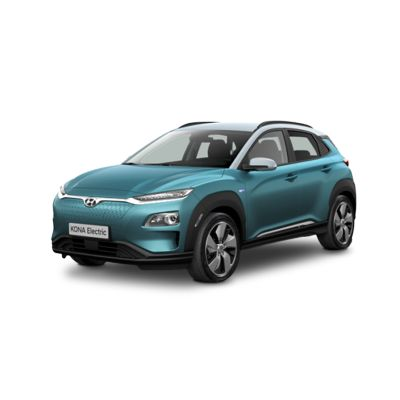 Side view of the all-new Hyundai Kona Electric.