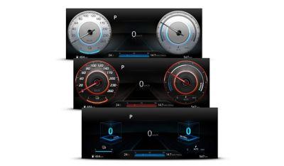 Le modalità di guida Comfort, Sport e Cube di Nuova Hyundai Kona Electric.