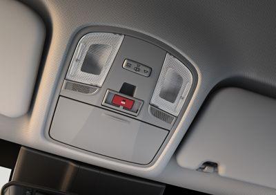 E-call effettua automaticamente chiamate di emergenza in caso di incidente in Nuova Hyundai KONA Hybrid.