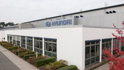Photo of the Hyundai Motorsport HQ.