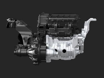 Immagine del motore elettrico di Nuova Hyundai Kona Electric.