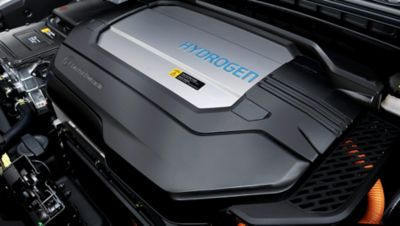 Photo showing the Hydrogen tank in the all-new Hyundai Nexo.