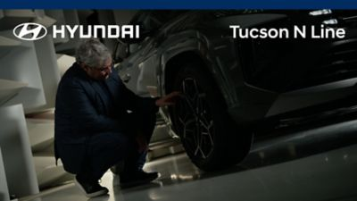 Luc Donckerwolke walk-around the all-new Hyundai TUCSON N Line.