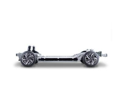 podvozek EV vozu