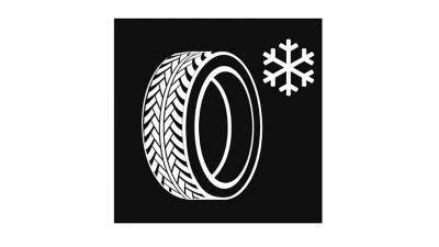 ikona zimních pneumatik zdarma