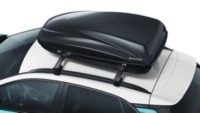 Immagine del portapacchi di Nuova Hyundai Kona Electric.