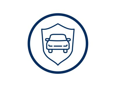 Car shield icon