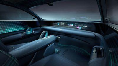 Samochód koncepcyjny Prophecy  - wnętrze