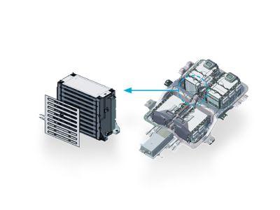 Nuova Hyundai IONIQ Electric - Sistema di riscaldamento della batteria.