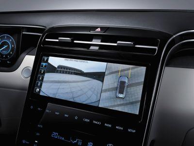 Nowy kompaktowy SUV Hyundai Tucson – ujęcie z przodu.