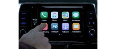 """Système de navigation avec écran 10,25"""" de Nouvelle Hyundai i30 Fastback."""