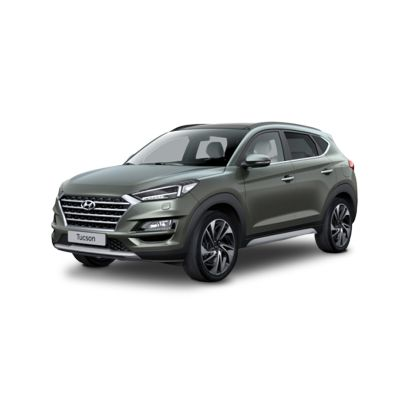 Side view of the all-new Hyundai Tucson.