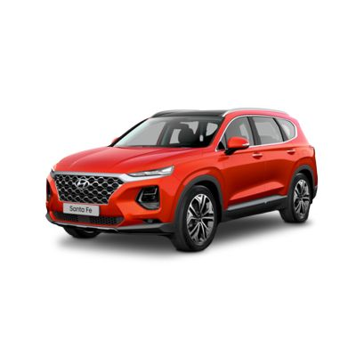Side view of the all-new Hyundai Santa Fe.