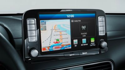 "Touchscreen da 10,25"" di Nuova Hyundai Kona Electric"