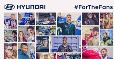 """Wideo prezentujące akcję """"A Matchday in Europe"""" z udziałem zawodników z każdego europejskiego klubu sponsorowanego przez Hyundai"""