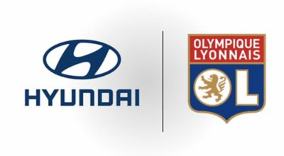 Wideo przedstawiające partnerstwo pomiędzy Hyundai a klubem Olympique Lyonnais.