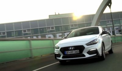 Video of the new Hyundai Fastback N Line.