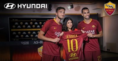 A video introducing the partnership between Hyundai and AS Roma.